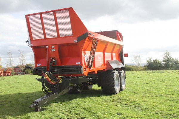 K Two BIO 1820 – 18 Tonne Twin Axle