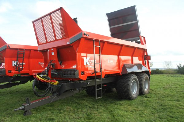 K Two EVO 1820 – 18 Tonne Twin Axle